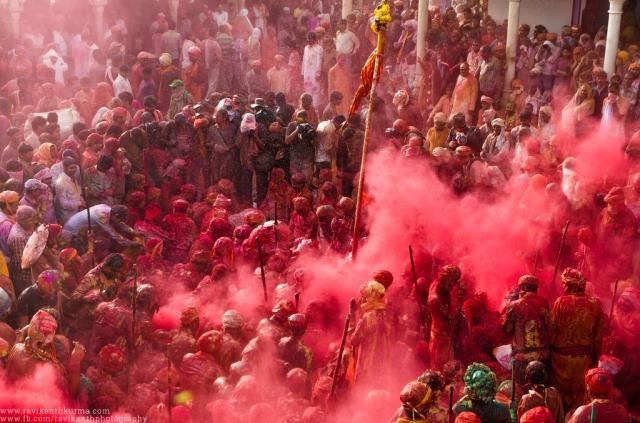 Holi Celebrations at Nandgaon